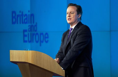 TODAY'S BLOOMBERG EVENT: ONE YEAR ON FROM CAMERON'S SPEECH
