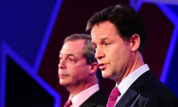 NICK V NIGEL: THE LABOUR VOTE AS THE DECIDER