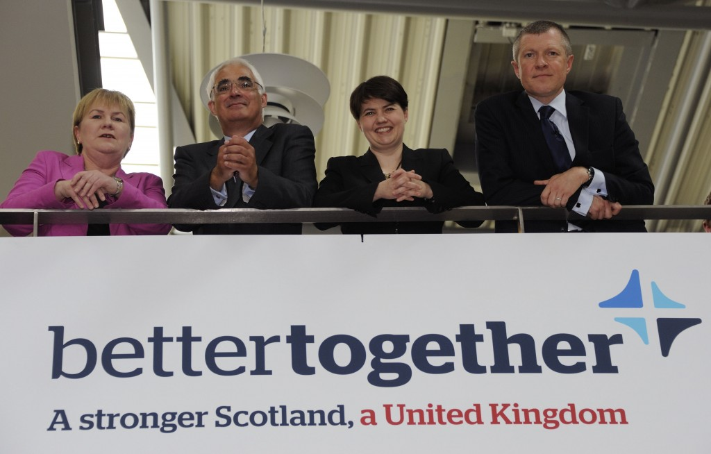 BETTER TOGETHER ARE A LITTLE RATTLED AT PRESENT: THEY SHOULDN'T BE
