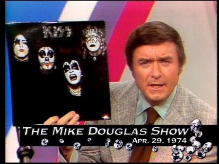 The 40th Anniversary of Kiss appearing on the Mike Douglas Show