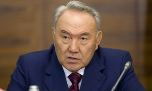 Nursultan Nazarbayev, president of Kazakhstan.